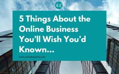 5 Things About the Online Business You'll Wish You'd Known…